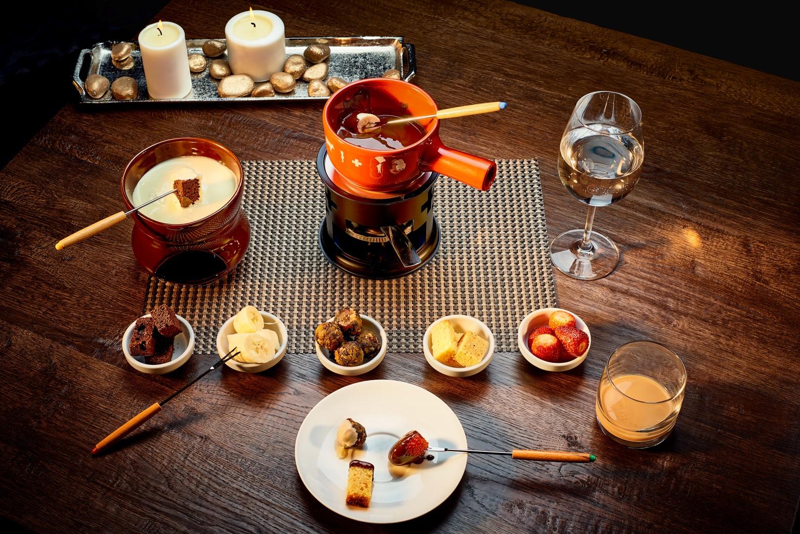 Sweet fondue