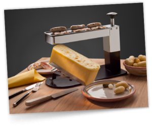 the Raclette Cheese