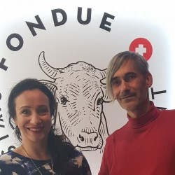 First guests in Restaurant Fondue