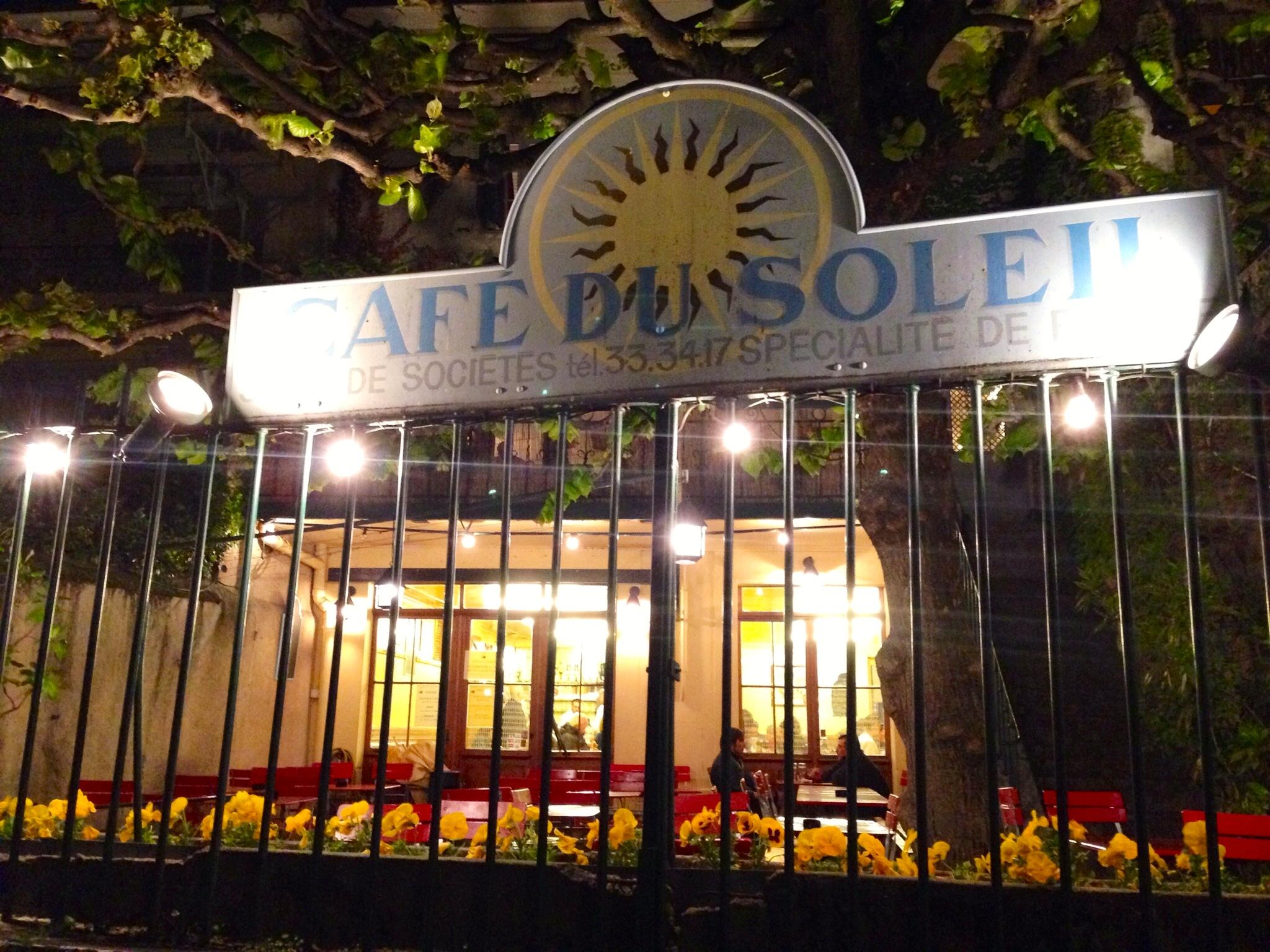 Фондю ресторант Cafe du Soleil в Женева | Fondue.bg