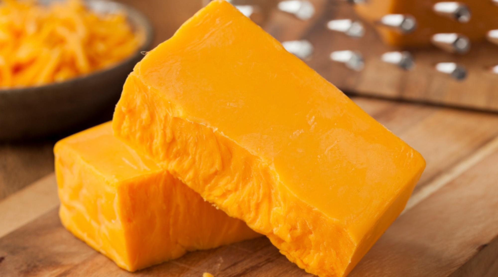 Cheddar cheese - image | Fondue.bg