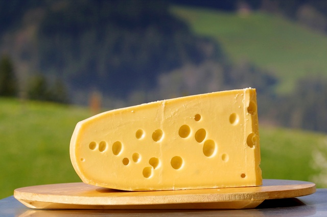 Emmental cheese - photo | Fondue.bg