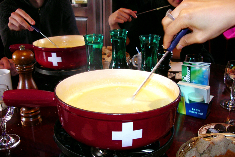 Swiss tool for fondue | Restaurant Fondue