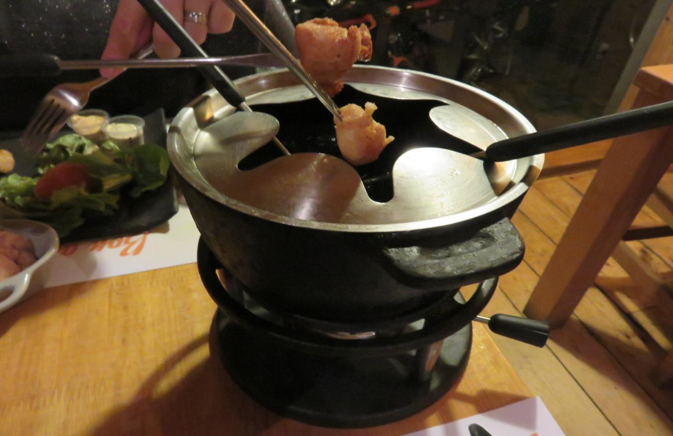 Хапки фондю | Ресторант Фондю