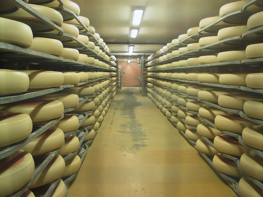 Emmental cheese production | Restaurant Fondue
