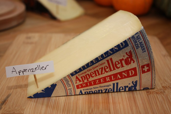 Swiss cheese Appenzeller photo