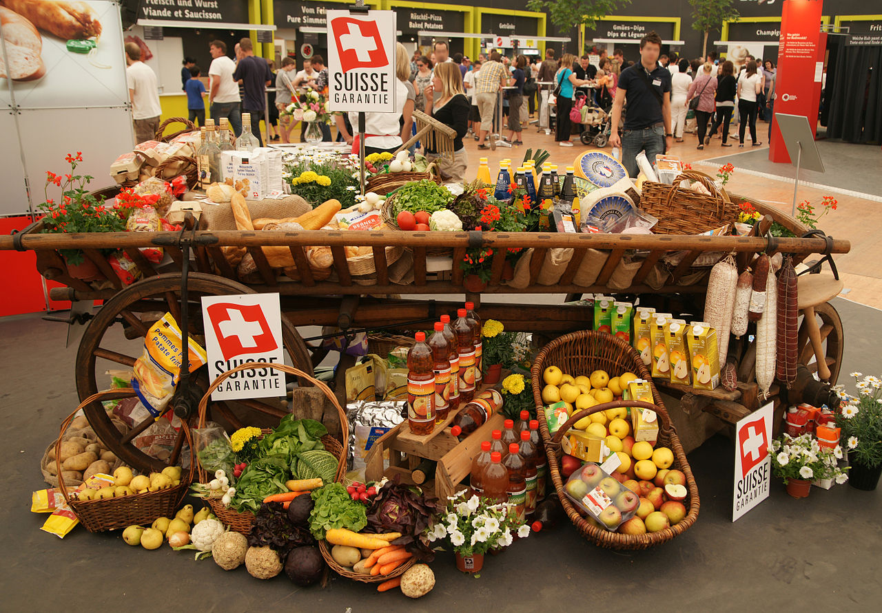 Пазар на швейцарски деликатеси