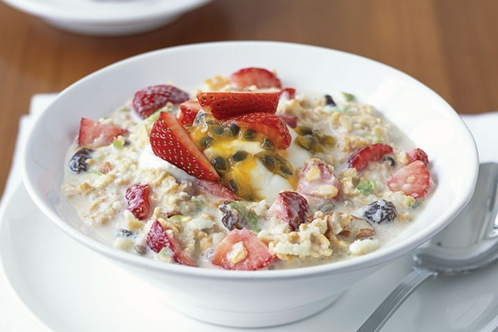 Swiss specialty Birchermuesli
