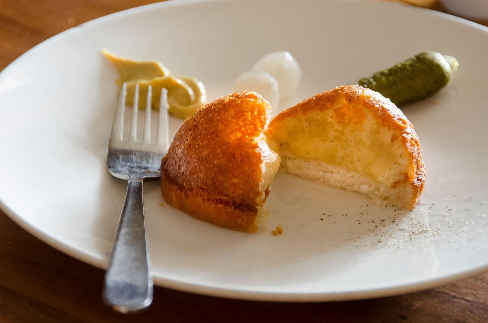 Swiss dish Malakoff | Restaurant Fondue