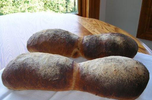 Swiss whole bread Basler Brot