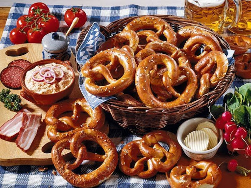 The famous Bretzel from Zurich