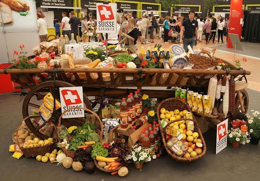 Swiss shop of farmers