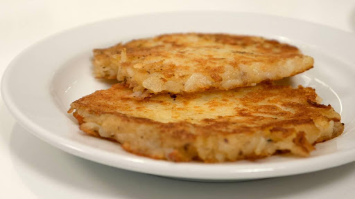 Swiss potato schnitzels