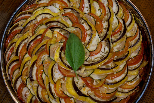 Ratatouille from French cuisine
