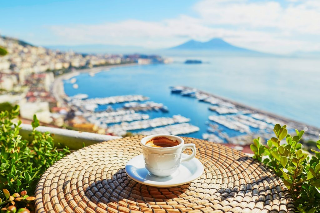 Aromatic Italian coffee