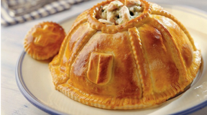 Meat pie - a traditional alpine dish