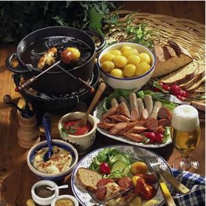 Празнични алпийски ястия