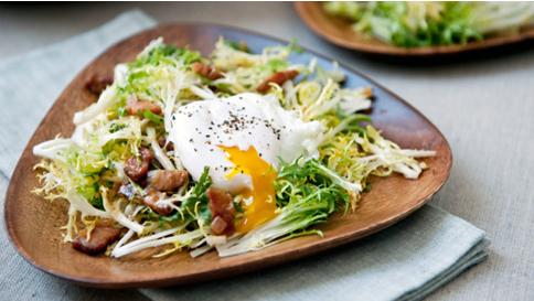 Френските салати, част от швейцарската кухня